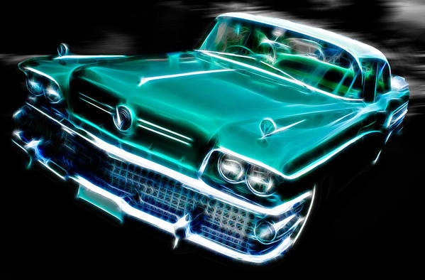 Custom Buick Print featuring the photograph 1958 Buick Special by Phil 'motography' Clark