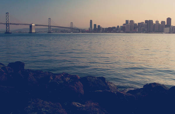 San Francisco Print featuring the photograph Gently The Evening Comes by Laurie Search