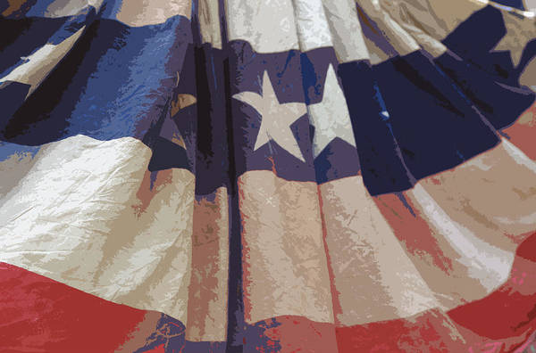 Independence Print featuring the photograph Independence Day by Marcia Mauskopf