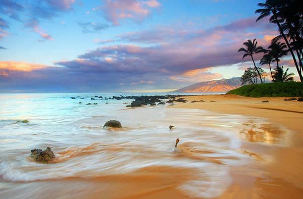 Sunrise Print featuring the photograph Paradise Dawn by Mike Dawson