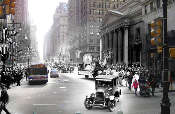 Philadelphia Print featuring the photograph Penn Square by Eric Nagy