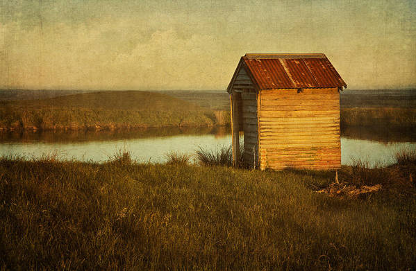 Shack Print featuring the photograph Ramshackle by Amy Weiss