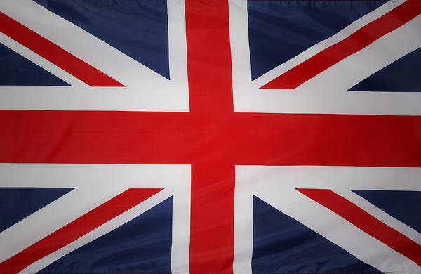 British Flag Print featuring the photograph Uk Flag by Les Cunliffe