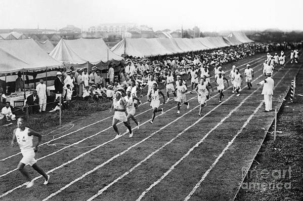 1912 Print featuring the photograph Olympic Games, 1912 by Granger