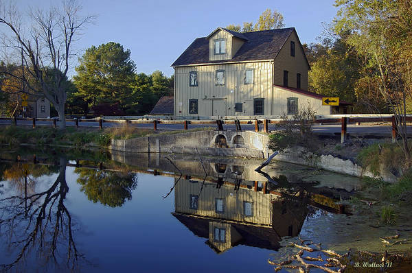 Brian Wallace Print featuring the photograph Abbotts Mill by Brian Wallace
