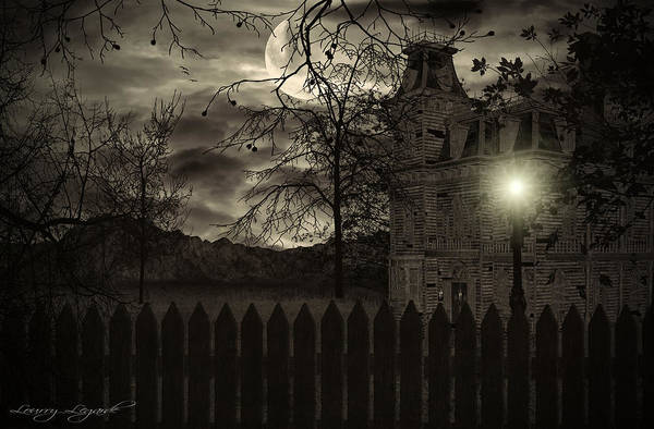 Haunted House Print featuring the photograph Arrival by Lourry Legarde