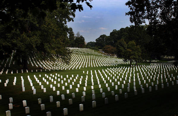 Arlington National Cemetery Print featuring the photograph The Cost by Greg and Chrystal Mimbs