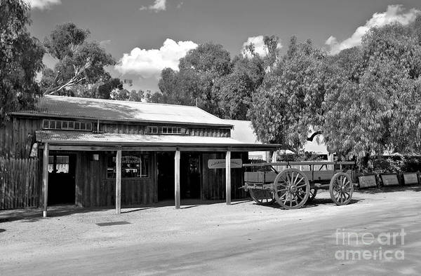 Echuca Print featuring the photograph The Heritage Town Of Echuca Victoria Australia by Kaye Menner