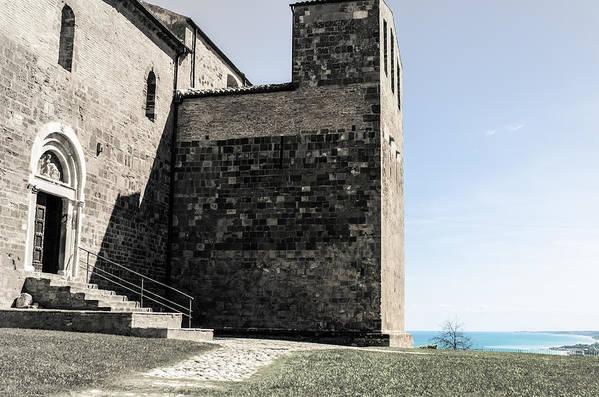 Fossacesia Italy  city photos : Medieval Abbey Fossacesia Italy 3 Print by Andrea Mazzocchetti