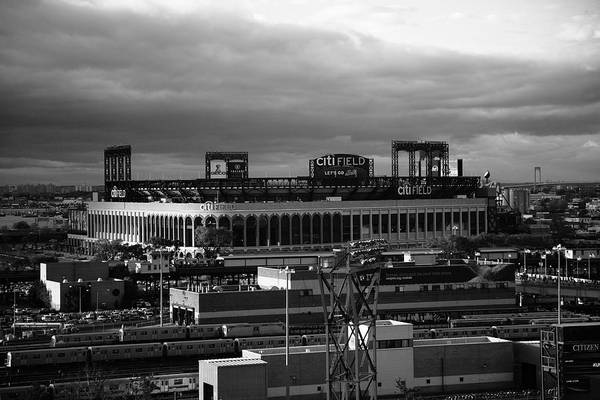 America Print featuring the photograph Citi Field - New York Mets by Frank Romeo