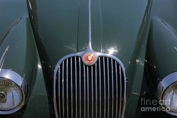 Transportation Print featuring the photograph 1959 Jaguar Xk150 Dhc 5d23301 by Wingsdomain Art and Photography