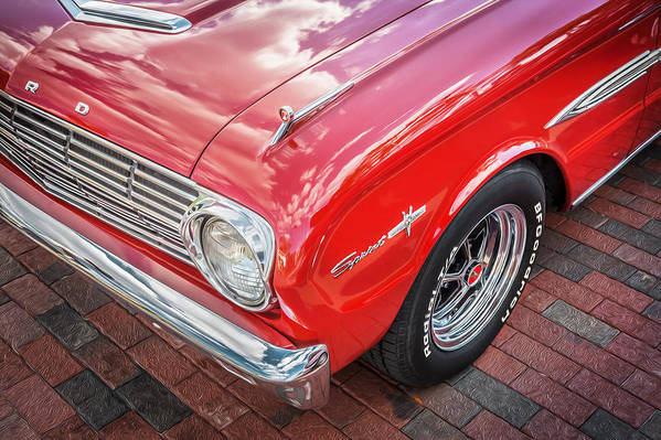 1963 Ford Falcon Sprint Print featuring the photograph 1963 Ford Falcon Sprint Convertible by Rich Franco