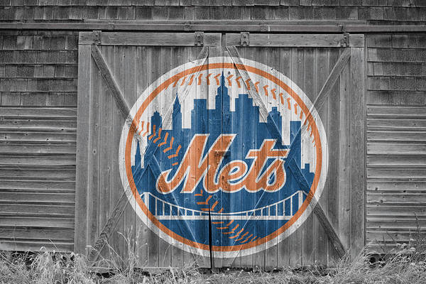 Mets Print featuring the photograph New York Mets by Joe Hamilton