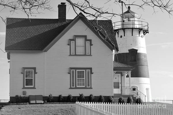 Connecticut Print featuring the photograph Startford Point Light by Catherine Reusch Daley