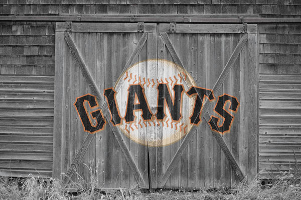 Giants Print featuring the photograph San Francisco Giants by Joe Hamilton