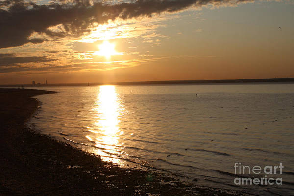 Bayille Sunset Print featuring the photograph Bayville Sunset by John Telfer