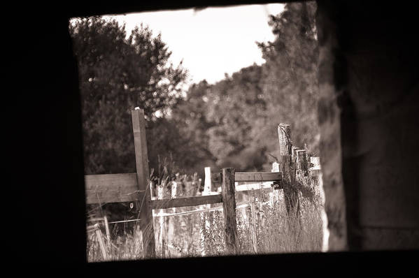 Loriental Print featuring the photograph Beyond The Stable by Loriental Photography