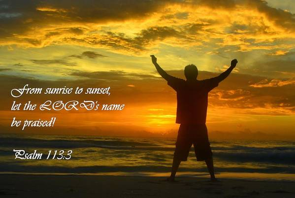 Bible Verse Print featuring the photograph Bible Verse by Erich Cabigting