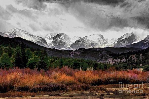 Rocky Mountain National Park Print featuring the photograph Big Storm by Jon Burch Photography