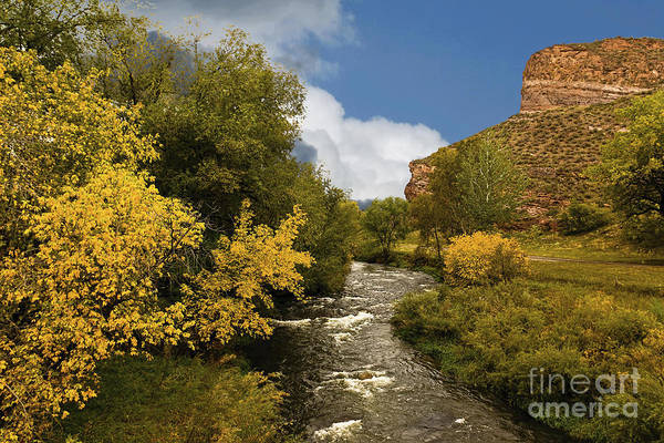 Big Thompson River Print featuring the photograph Big Thompson River 2 by Jon Burch Photography
