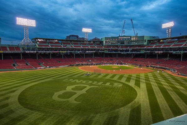 Fenway Park Print featuring the photograph Boston Strong by Paul Treseler
