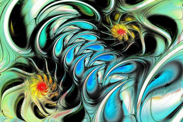 Malakhova Print featuring the digital art Brain Stimulation by Anastasiya Malakhova