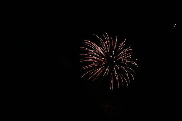 Fireworks Print featuring the photograph Celebration Xxxiii by Pablo Rosales