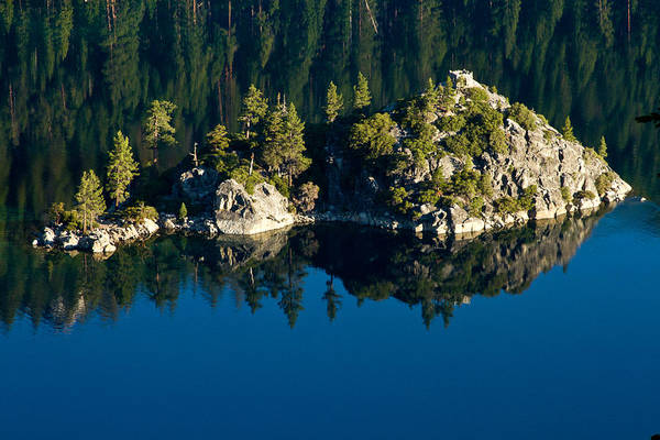 Lake Tahoe Print featuring the photograph Emerald Isle by Bill Gallagher