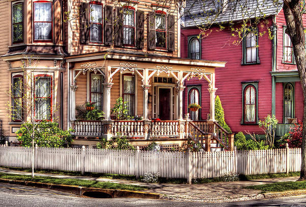 Savad Print featuring the House - Country Victorian by Mike Savad