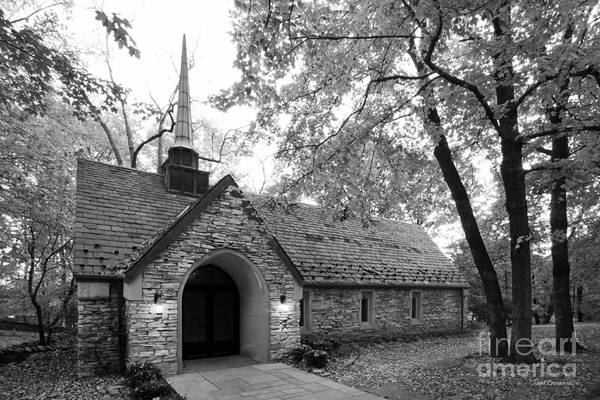 American Print featuring the photograph Indiana University Beck Chapel by University Icons