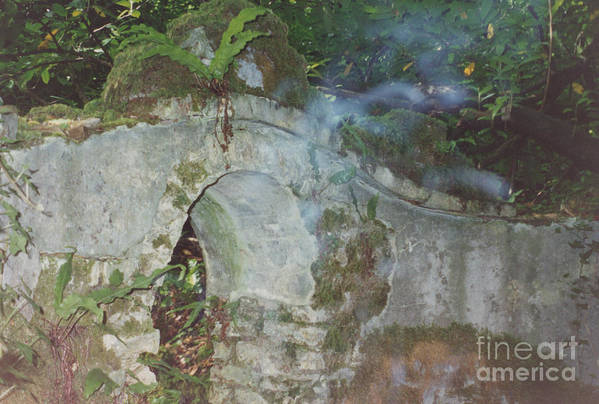 Ireland Print featuring the photograph Ireland Ghostly Grave by First Star Art