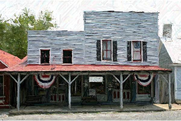 Merchants' Row Print featuring the photograph Latimore's Store - Perryville Ky by Thia Stover