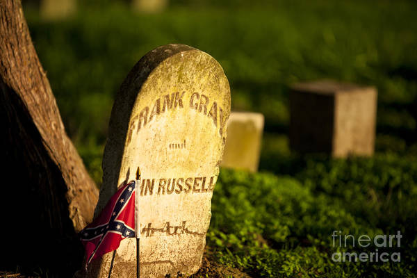 Mcgavock Print featuring the photograph Mcgavock Confederate Cemetery by Brian Jannsen