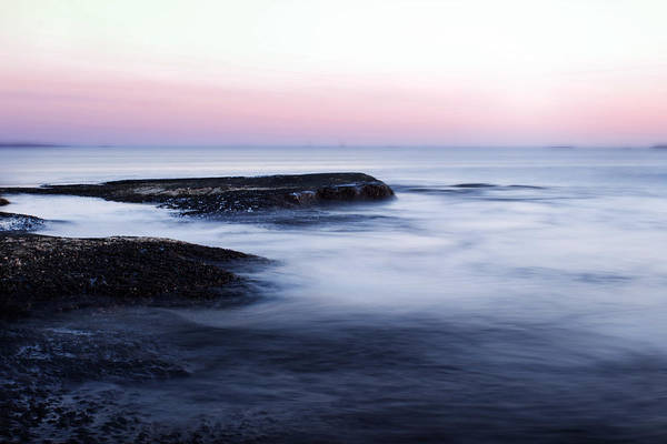 Sea Print featuring the photograph Misty Sea by Nicklas Gustafsson