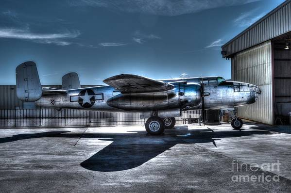 North American Mitchell B-25j Print featuring the photograph Mitchell B-25j by Tommy Anderson
