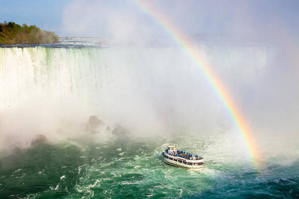 Buffalo Print featuring the photograph Niagara's Maid Of The Mist by Adam Pender