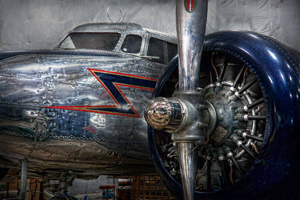 Plane Print featuring the photograph Plane - Hey Fly Boy by Mike Savad