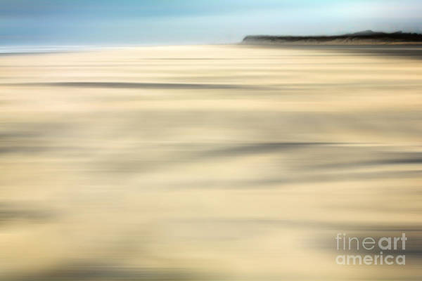 Outer Banks Print featuring the photograph Sand - A Tranquil Moments Landscape by Dan Carmichael