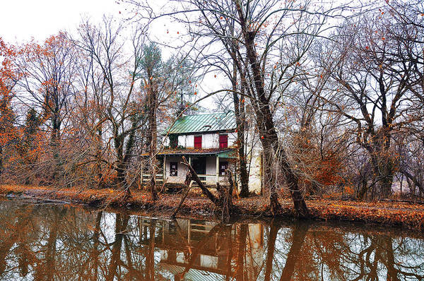 Schuylkill Print featuring the photograph Schuylkill Canal Port Providence by Bill Cannon