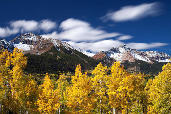 Colorado Landscapes Print featuring the photograph Sneffels Winds by Darren White