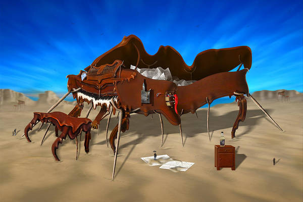 Surrealism Print featuring the photograph Soft Grand Piano by Mike McGlothlen