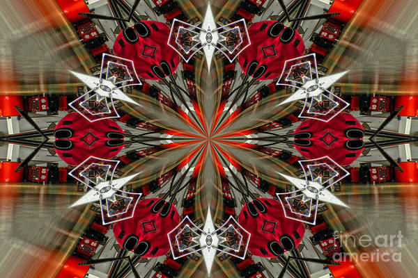 Diane Berry Print featuring the photograph Spatial Awareness by Diane E Berry