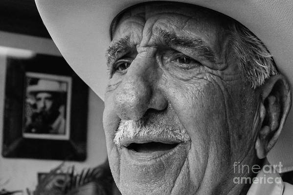 Old Man Print featuring the photograph The Cigar Maker by Rene Triay Photography