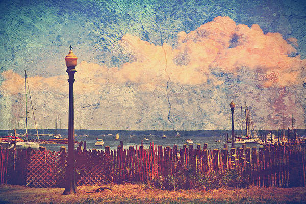 Mamaroneck Print featuring the photograph The Salty Air Sea Breeze In Her Hair Iv by Aurelio Zucco