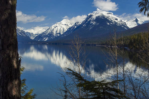 Montana Print featuring the photograph Time For Reflection by Fran Riley