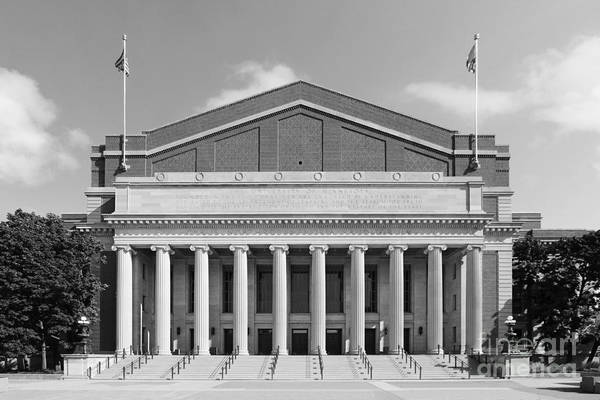 Aau Print featuring the photograph University Of Minnesota Northrop Auditorium by University Icons