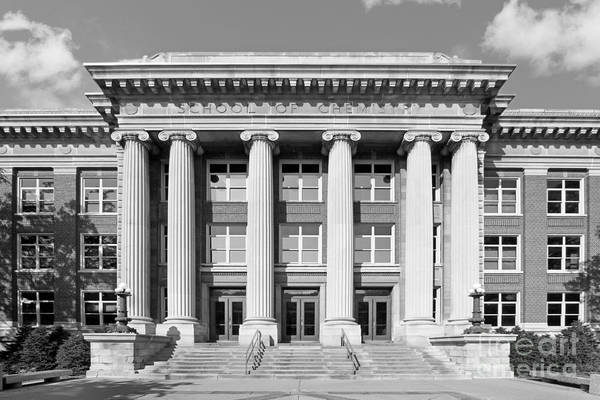 Aau Print featuring the photograph University Of Minnesota Smith Hall by University Icons