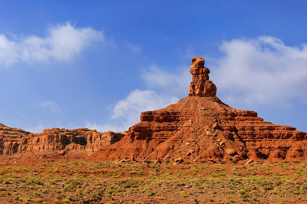 Valley Print featuring the photograph Valley Of The Gods Utah by Christine Till