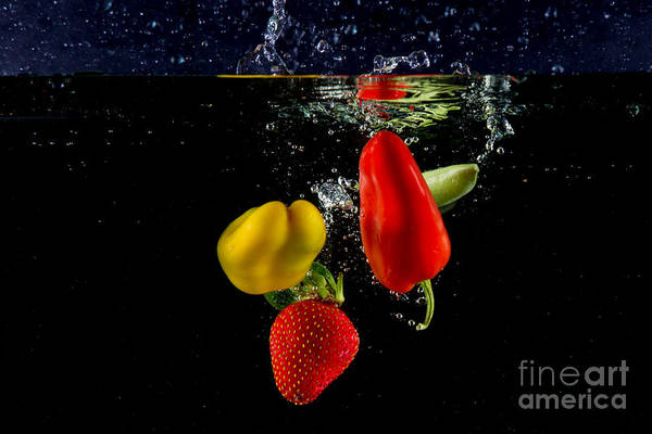 Dice Print featuring the photograph Vegetable Soup For The Soul by Rene Triay Photography