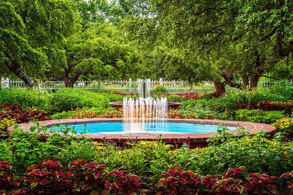 Prescott Park Print featuring the photograph Verdant Garden by Jeff Sinon